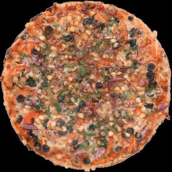 Пицца Вегетарианская с овощами